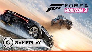 Forza Horizon 3 - Apostles Beach Cross Country Gameplay