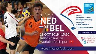 IKF U21 EKC 2019 BEL - NED