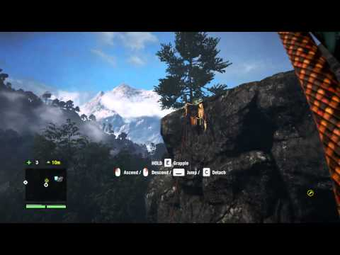 far cry 5 how to climb up grapple