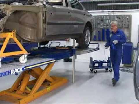 car o liner bench rack