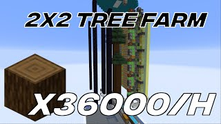 Double 2x2 Spruce Tree Farm 1.15