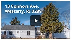 Home for sale 13 connors ave westerly ri 02891