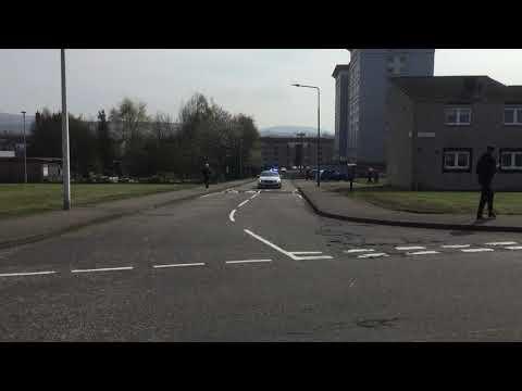 (Rare) Police Scotland Escort