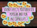 Free popular fun sound effects youtuber use non copyright mp3