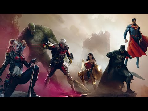 JUSTICE LEAGUE HEROES Movie All Cutscenes 4K (2020)