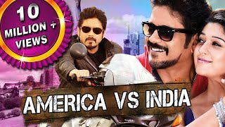 America Vs India (Greeku Veerudu) Telugu Hindi Dubbed Full Movie | Nagarjuna, Nayantara