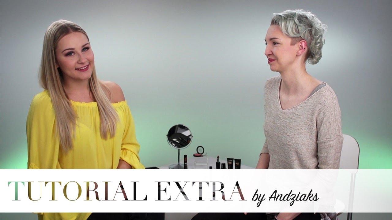 Klasyczny makijaż by Andziaks - Tutorial Extra #6