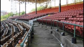 Abandoned Bush stadium Indianapolis