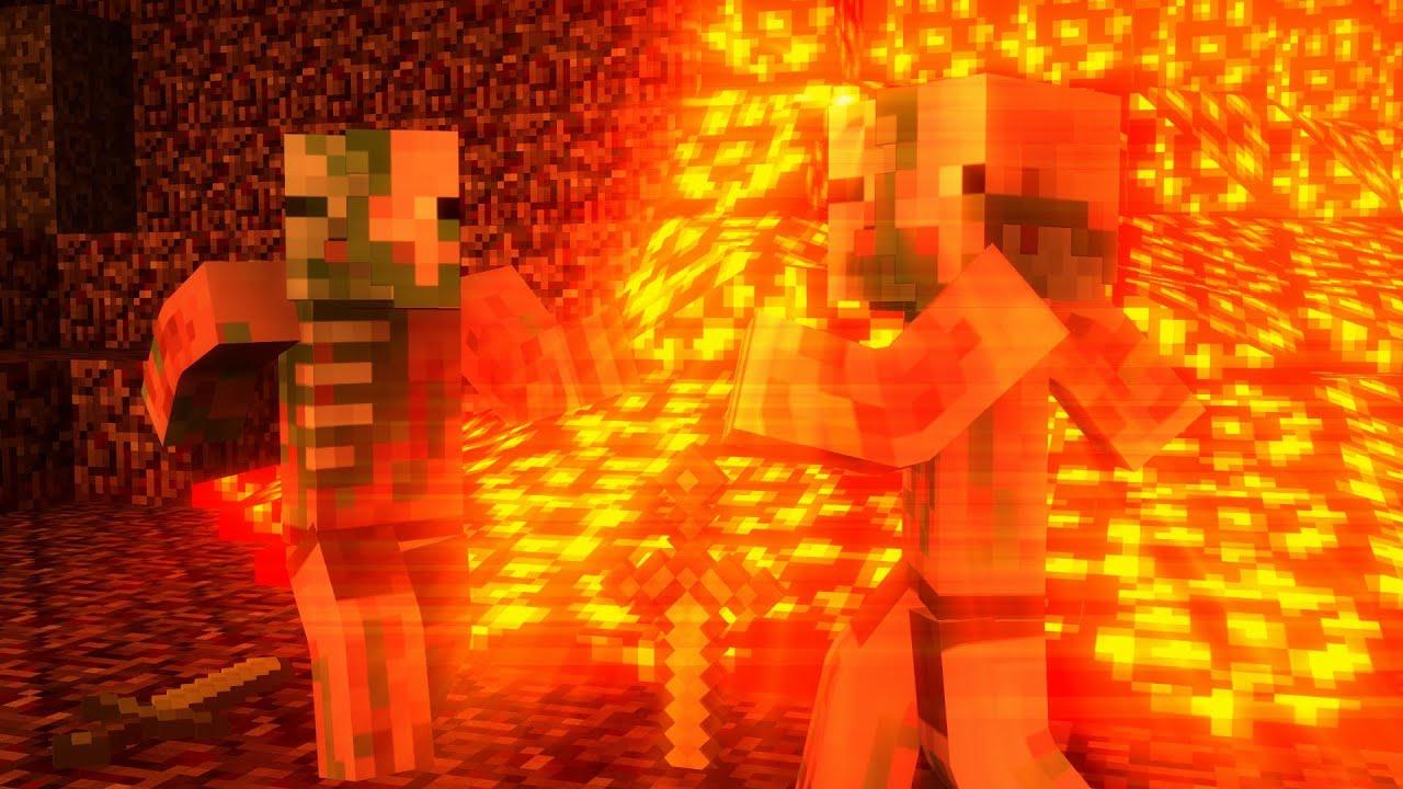 Minecraft Animation Wallpaper Nether Dance Minecraft Animation Short Youtube