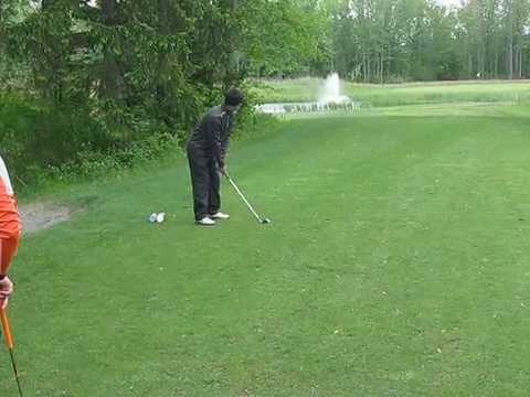 2015 post standard golf - Hole 4