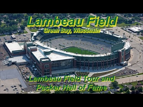 Lambeau Field Tour and Packer Hall of Fame