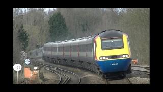 East Midlands Trains HST's 2016, Bedford Loughborough Lineside