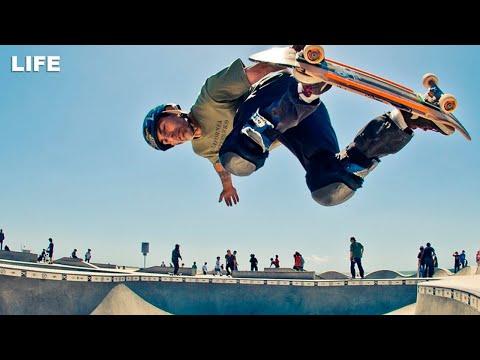 Шоу лучших скейтеров мира в Москве
