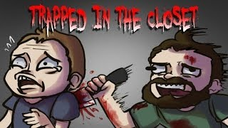 Trapped In The Closet (GMod Murder w/ Face Cam)
