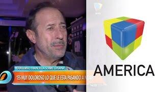 Guillermo Francella hablóde la salud del hijo de Luisana Lopilato