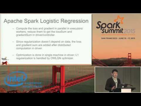 Large Scale Lasso and...  DB Tsai (Netflix and Alpine Data Labs) Steve Hillion (Alpine Data Labs)