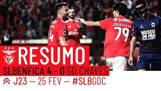 HIGHLIGHTS: SL Benfica 4-0 GD Chaves