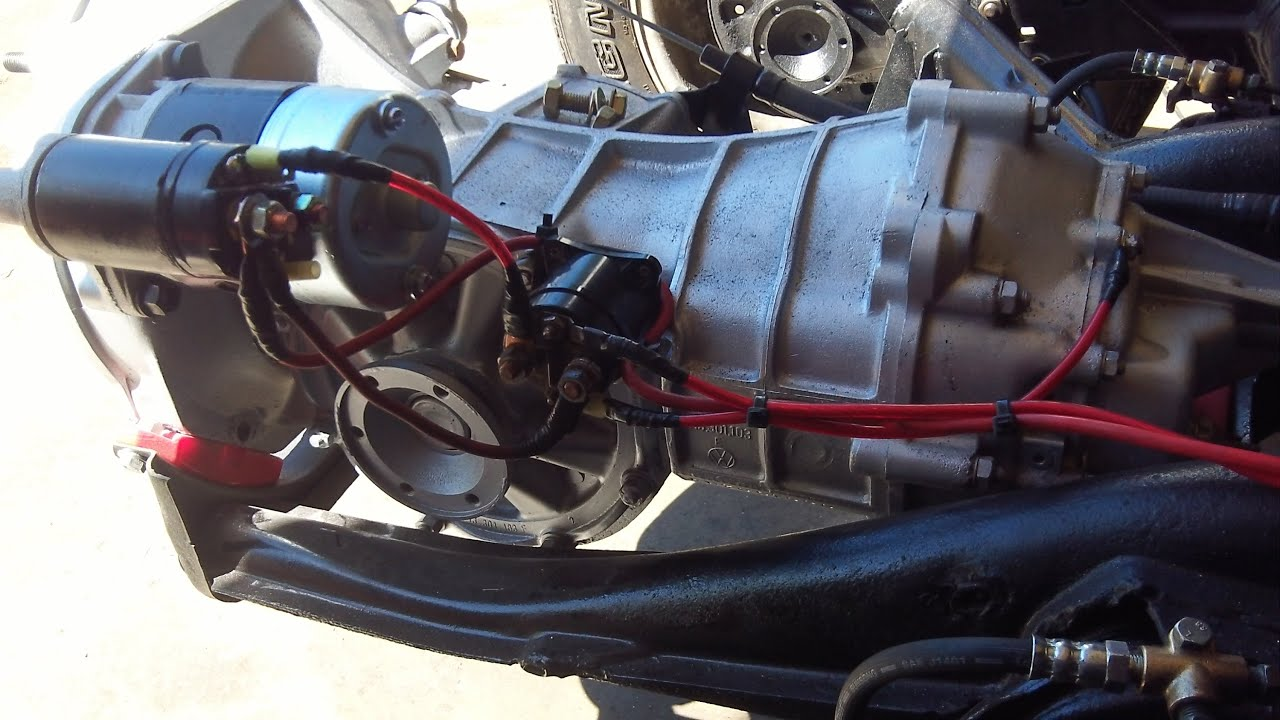 RBVWTrike #62: VW Starter Dual Solenoid Wiring & Bed