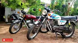 Yamaha RX 100 Modified Colours Creation RX 100 Which One is Good