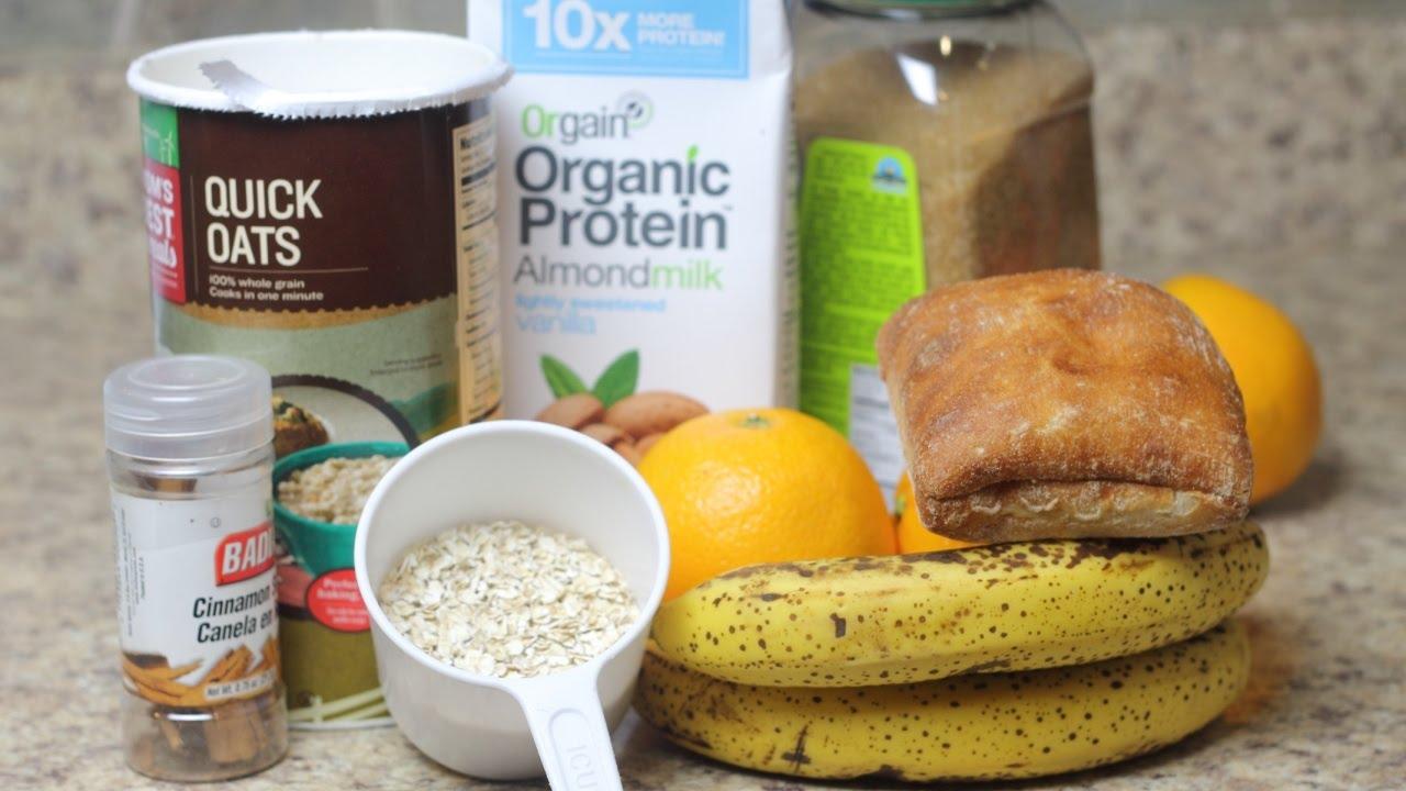 Batidos para desayunar para aumentar masa muscular