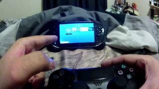 Stream Games on PS Vita Using Your Playstation 4 DualShock 4 Controller with Primary PSN Account