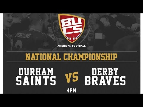 BUCS National Championship Final - British University American Football