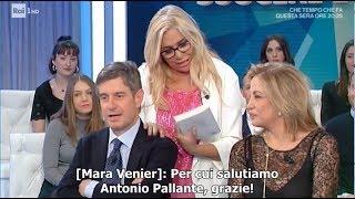 Mara Venier manda un saluto all'attentatore di Togliatti