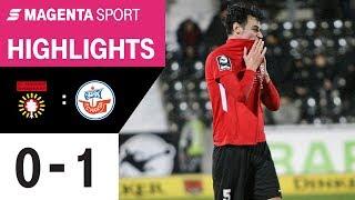 SG Sonnenhof Großaspach - Hansa Rostock | Spieltag 24, 19/20 | MAGENTA SPORT