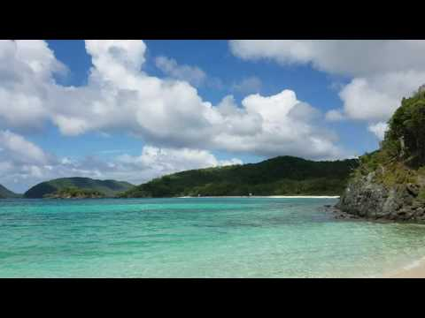 JUMBIE St. John US VI Virgin Islands panoramic video ocean sounds