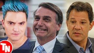 Felipe Neto anuncia em quem vai votar e choca a Internet