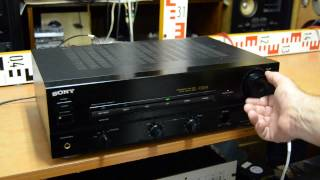 SONY TA-F335R Stereo Amplifier, service required or for spare parts only