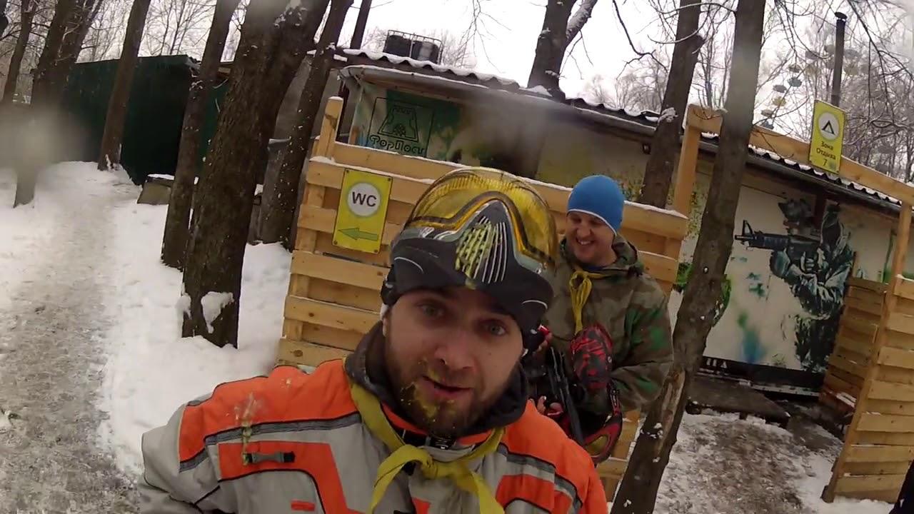 Пейнтбольная масленица - 18.02.2018
