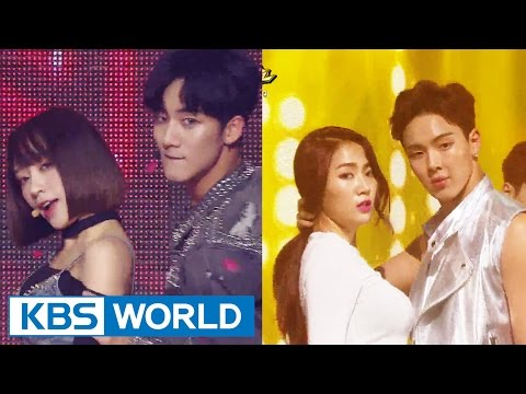 Special Collaboration -  HANI X JIHUN / SOYOU X SHOWNU [Music Bank / 2016.06.24]