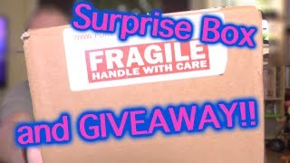 PORTSMOUTH TARANTULAS SURPRISE BOX AND GIVEAWAY