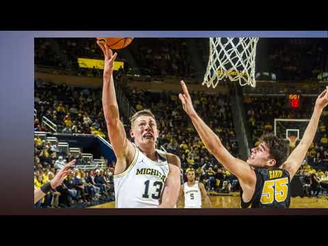 Robinson scores 18 as Wolverines beat Hawkeyes 74 59