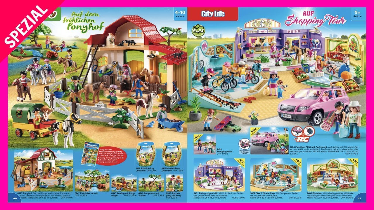 PLAYMOBIL NEUHEITEN 2018 - Coole Neue Sets von Playmobil - YouTube