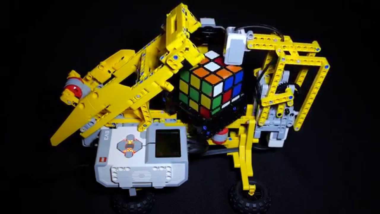 Lego Mindstorms Ev3 Rubik S Cubes Solver Youtube