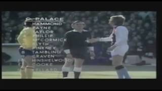 Crystal Palace 2 Arsenal 3 (1972-73)