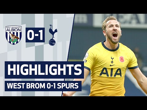 HIGHLIGHTS | WEST BROM 0-1 SPURS | HARRY KANE SCORES HIS 150TH PREMIER LEAGUE GOAL