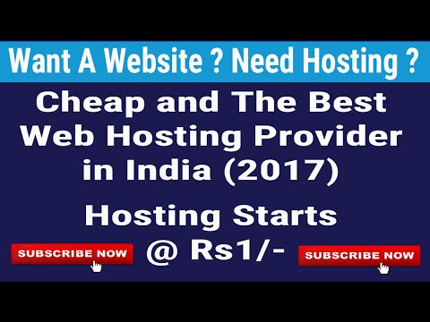 Cheapest Web Hosting Provider In India, Best Web Hosting Plans,  Rs1 Hosting Web designing in Hindi