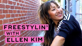Freestylin' With Ellen Kim At LaserAway