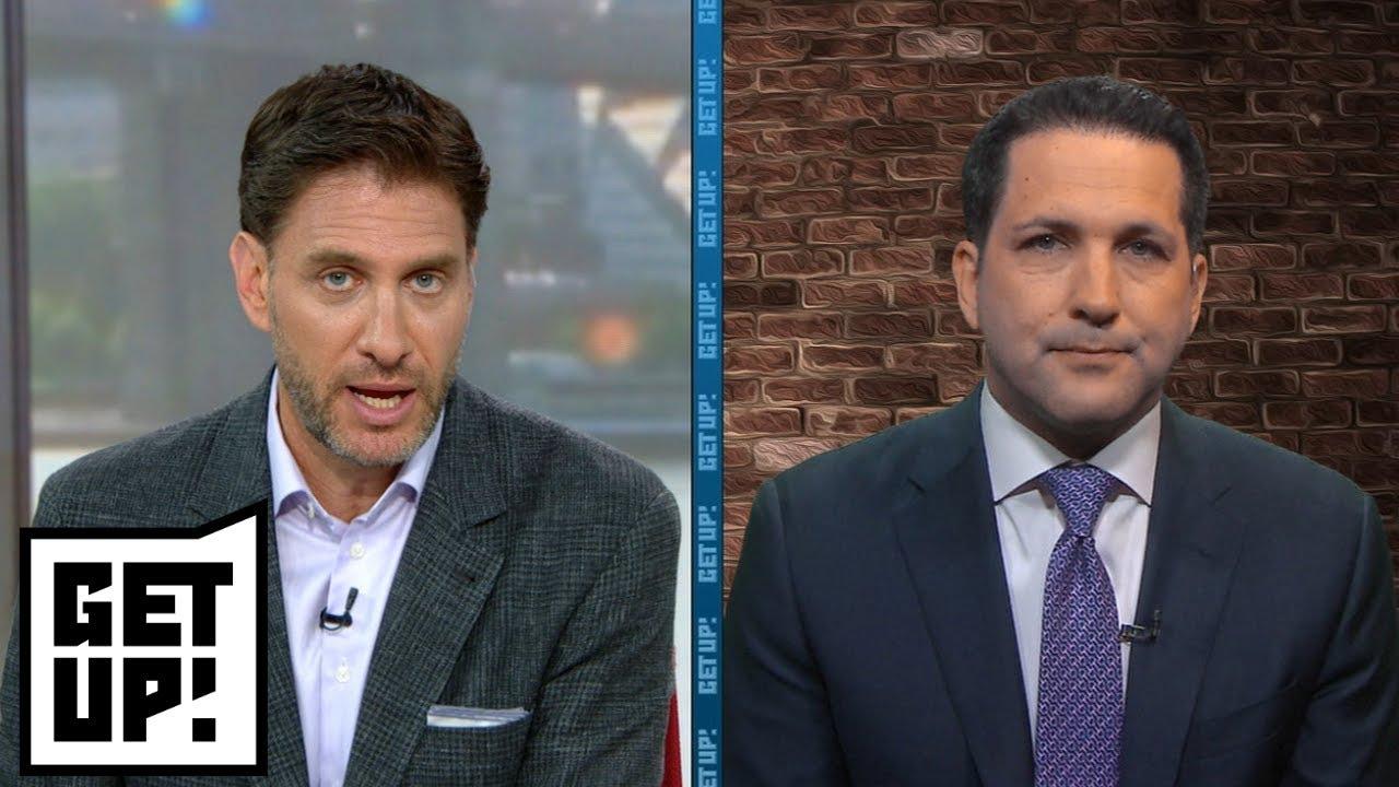 Adam Schefter on Jets starting QB drama, Adrian Peterson's fantasy draft status   Get Up!   ESPN