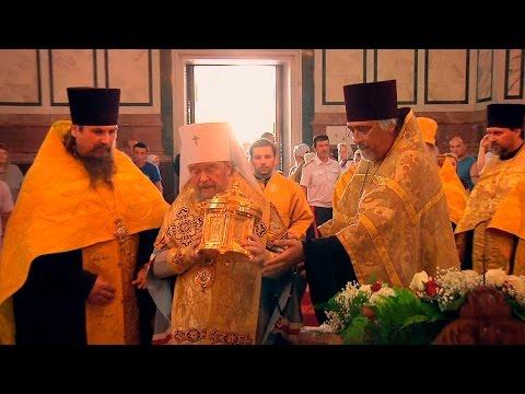 Севастополь встретил мощи князя Владимира