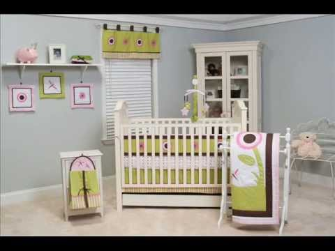 Pam Grace Creations Sophia's Garden 10 Piece Bedding Set ; Baby Cribs Bedding