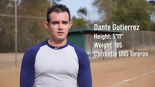 Dante Gutierrez - Updated Baseball Highlights