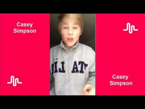 The Best Musical ly Compilation l Casey Simpson