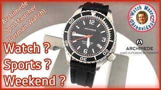 Leisure Time Sports Watch: Archimede Sporttaucher YouTube Videos