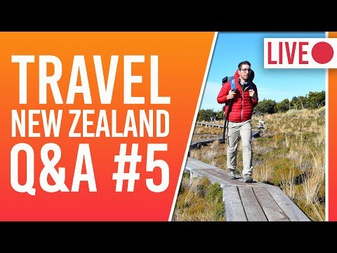 New Zealand Travel Q&A - Best Place in NZ + Kiwi Experience: Party Bus? + NZ BEST Food