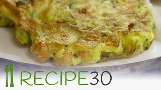 Zucchini And Chickpea Fritters Recipe