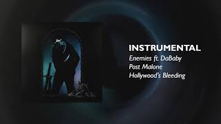 Post Malone - Enemies feat. DaBaby (INSTRUMENTAL)